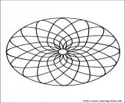 Print simple free mandalas 05 coloring pages