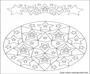 simple free mandalas 31