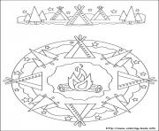 Printable simple free mandalas 33 coloring pages