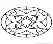 Print easy simple mandala 65 coloring pages