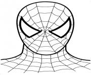 easy spiderman sf0fa coloring pages