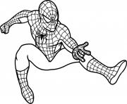 Printable spiderman cartoon s5c07 coloring pages
