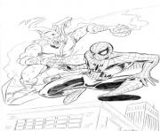 Print spiderman s green goblin8230 coloring pages