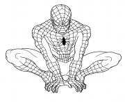 mini coloring pages spiderman - photo#32