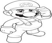 mario bros scd1e coloring pages