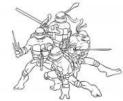 superhero  ninja turtle freef8a0 coloring pages