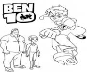 cartoon s printable ben 108a1b coloring pages