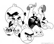 printable angry birds cartoon8d89 coloring pages