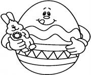easter s eggs and bunny dollfafa coloring pages