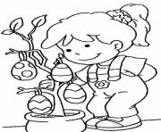 girl easter s with eggsec3c coloring pages