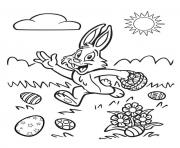 wait for me easter s bunny yellingb7f0 coloring pages