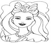 Printable beautiful barbie s for girly girls662d coloring pages