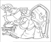belle looking at the mirror disney princess 7a62 coloring pages