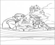 Printable coloring pages printable tangled cartoona312 coloring pages