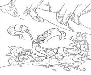 Lumiere Sledding With Mr Clock Disney Princess A5b3 Coloring Pages