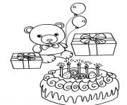teddy happy birthday bear 9265