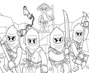 Printable awesome ninjago s07e6 coloring pages