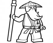 sensei ninjago sf812 coloring pages