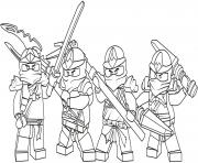 Printable kids ninjago sdb99 coloring pages