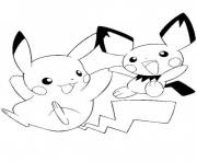 Printable pikachu s printable9861 coloring pages