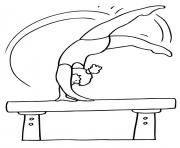 Print sporty s for kids gymnasticsf31c coloring pages