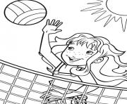 Printable sport volleyball s for girlsbf4d coloring pages