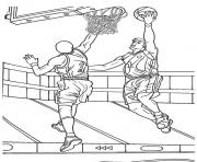 Print basketball game s for adults98e4 coloring pages