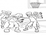 Printable coloring pages with basketballb885 coloring pages