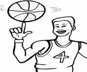 Printable cool basketball s4bc2 coloring pages