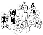 LOONEY TUNES Coloring Pages Color Online Free Printable