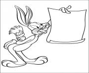 Print printable bugs bunny pictures of looney tunes s0158 coloring pages