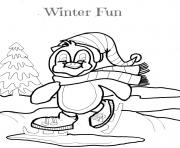 Print winter funbdcb coloring pages