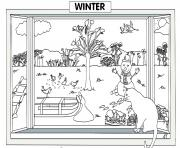 Print preschool winter  free3958 coloring pages