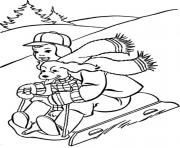 Printable skating winter s printables99d6 coloring pages