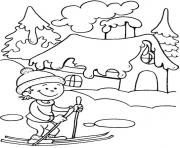 Printable printable winter seasond529 coloring pages