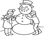 Printable winter fun1336 coloring pages