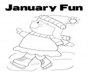 Printable winter s printable january fund743 coloring pages