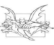 printable batman team6782 coloring pages