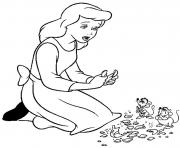 Print princess sad cinderella s for kidsf879 coloring pages