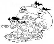 Print cartoon piratese678 coloring pages