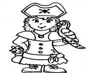 Print a pirate girl e14493874418473780 coloring pages