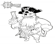 Printable pirate with beardsc021 coloring pages