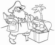 Printable fat romantic pirateceb2 coloring pages