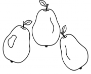Print good pears fruit s69e3 coloring pages