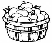barrel apple fruit s80ad coloring pages