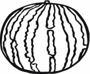 Print big watermelon fruit s568a coloring pages