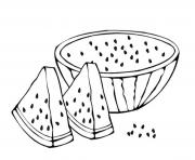 Print fruit s sliced watermelon31cc coloring pages