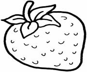 Print strawberry fruit sbe9a coloring pages