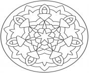Printable free mandala sb460 coloring pages