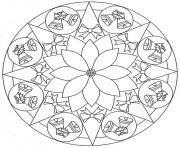 Printable bell mandala s3f7f coloring pages